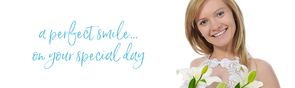 Wedding day smile makeovers and orthodontic teeth straightening